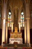 Choeur de cathédrale Image libre de droits