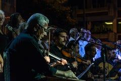 Choeur de musique classique de centre d'enseignement public Image libre de droits
