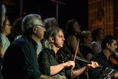 Choeur de musique classique de centre d'enseignement public Photographie stock