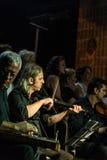 Choeur de musique classique de centre d'enseignement public Images libres de droits