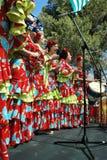 Choeur féminin espagnol Images stock
