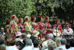 Choeur féminin espagnol, Marbella Photo stock
