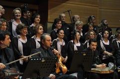 Choeur turc moderne de musique classique Photographie stock libre de droits