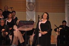 Choeur turc moderne de musique classique Photos stock