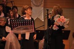 Choeur turc moderne de musique classique Images libres de droits