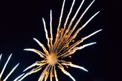 Chofu Autumn Fireworks Festival 2018 fotos de stock