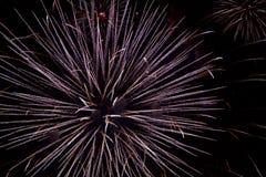 Chofu Autumn Fireworks Festival 2018 fotos de stock royalty free