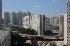 The Choi Hung district Royalty Free Stock Image