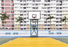 Choi Hung Estate em Hong Kong Foto de Stock Royalty Free