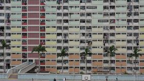 Choi Hung Estate stock footage