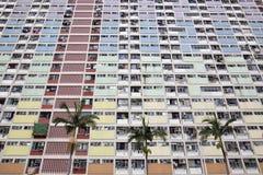 Choi Hung Estate in Hong Kong Stockbilder