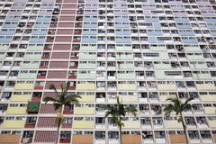 Choi Hung Estate in Hong Kong Stock Images