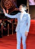 Choi Siwon chez Dragon Blade Premiere Photo stock