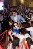 Choi Siwon in Dragon Blade Premiere Royalty-vrije Stock Foto