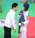 Choi Young Seok head coach of Thailand Stock Photos