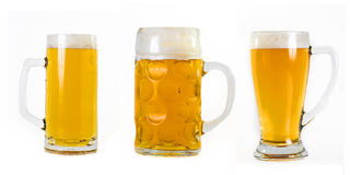 Choice of beers Stock Image