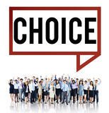 Choice Challenge Making Decision Selection Concept Stock Image