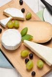 Choice of cheese. Stock Images