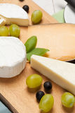 Choice of cheese. Royalty Free Stock Photo