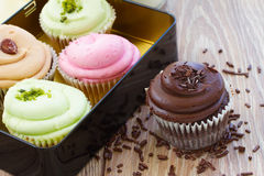 Choice of cupcakes Royalty Free Stock Images