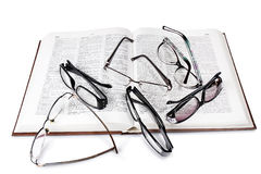 Choice eyeglasses Stock Images