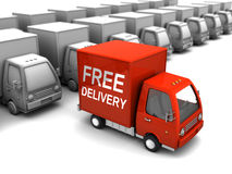 Choice free delivery Stock Photography