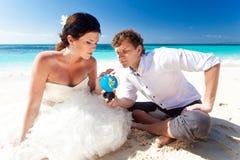 Choice for honeymoon stock photos