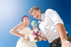 Choice for honeymoon royalty free stock image