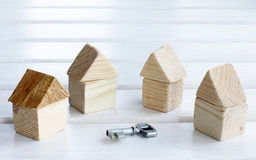 Choice of house turnkey Royalty Free Stock Images