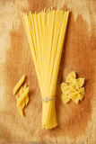 choice italiensk pasta Arkivfoto
