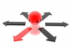 choice korrekt beslut vektor illustrationer