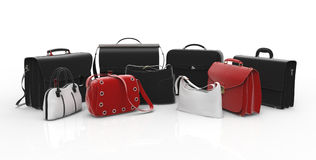 Choice for luggages Royalty Free Stock Image