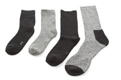 Choice of men's socks Stock Photos