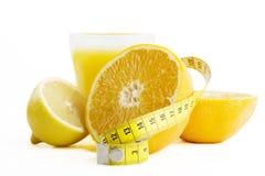 choice ny sund fruktsaft Arkivbilder