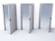 Choice Open Door Possibilities Royalty Free Stock Image