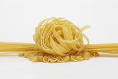 Choice of pasta Stock Photography