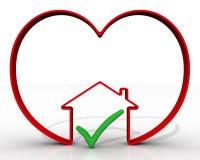 The choice of real estate. Concept Stock Photos