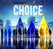 Choice Selection Option Choosing Risk Concept Royalty Free Stock Photo