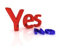 Choice series: Yes. With no laying near it royalty free illustration