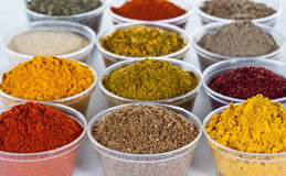 Choice of spice. Closeup shot Stock Photography