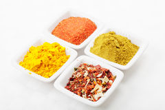 Choice of spices Royalty Free Stock Photography