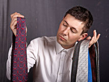 Choice of tie Royalty Free Stock Photography