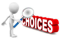 Choices Stock Photo