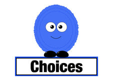 Choices concept Royalty Free Stock Images