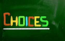 Choices Concept Royalty Free Stock Photo
