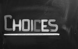 Choices Concept Stock Images