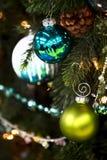 Choinek dekoracje zdjęcie stock