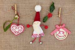 Choinek dekoracje Fotografia Stock