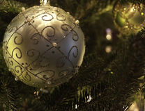 Choinek dekoracje na drzewie Zdjęcie Royalty Free