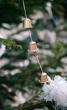 Choinek ręcznie robiony kawowe kapsuły fotografia stock